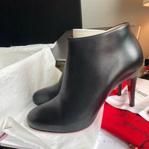 Belle 85mm Christian Louboutin Lambskin Boots
